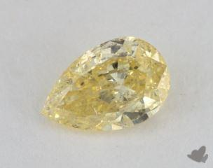 pear0.68 Carat fancy intense yellowI1