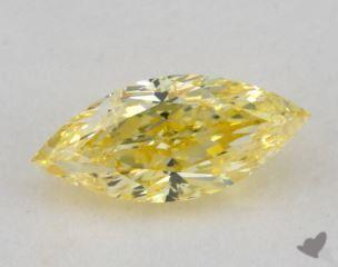 marquise0.71 Carat fancy intense yellowI1