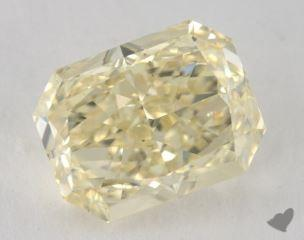 radiant4.01 Carat fancy light yellowVS2