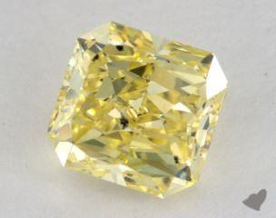 radiant2.03 Carat fancy intense yellowSI2