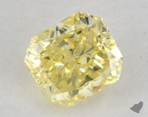 radiant2.04 Carat fancy intense yellowSI2