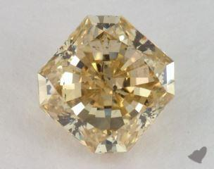 radiant2.21 Carat fancy brownish yellowSI2