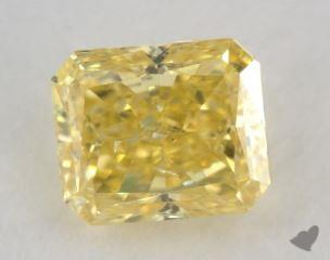 radiant1.00 Carat fancy intense yellowSI2