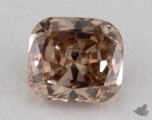 cushion0.19 Carat fancy deep pinkI1