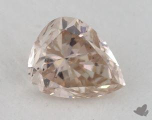 pear0.25 Carat fancy pinkI1