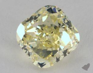 cushion3.55 Carat fancy yellowSI2