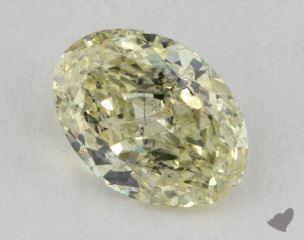 oval2.06 Carat fancy yellowI1