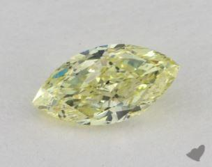 marquise0.59 Carat fancy yellowSI2
