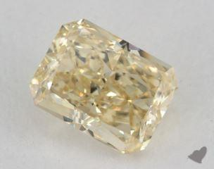 radiant1.50 Carat fancy light brownish yellowVS2