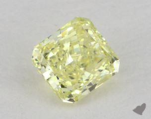 radiant0.51 Carat fancy yellowVS1