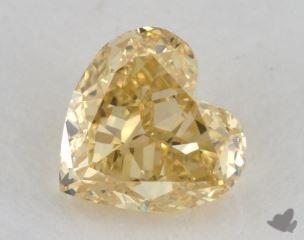 heart0.69 Carat fancy intense yellowVS2