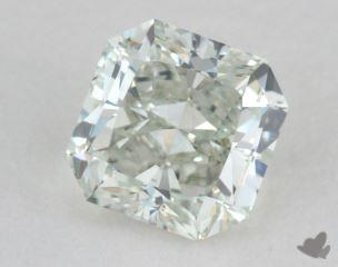 radiant0.73 Carat fancy light greenVS2