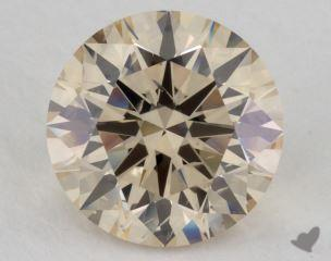 round3.01 Carat light brownSI2