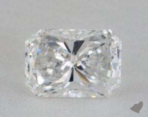 radiant0.74 Carat DVVS1