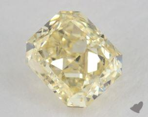 radiant1.10 Carat fancy yellowSI1