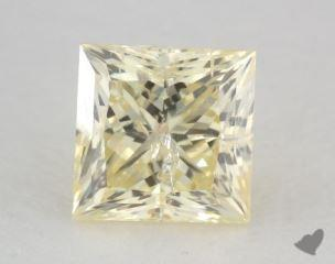 princess1.01 Carat fancy light yellow