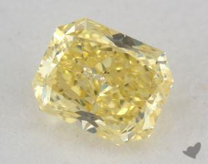radiant0.74 Carat fancy intense yellowI1