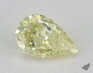 pear1.08 Carat light yellow