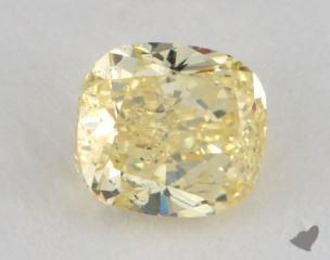 cushion0.71 Carat fancy intense yellowSI2