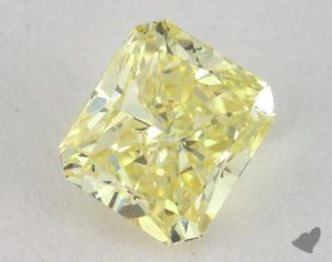 radiant0.52 Carat fancy intense yellowSI1