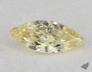 marquise0.22 Carat fancy yellowVS1