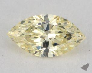 marquise0.46 Carat fancy light yellowVS2