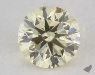 round0.73 Carat light yellowVS2