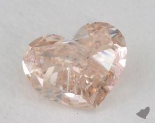 heart0.53 Carat fancy brownSI2
