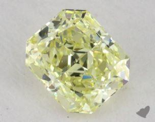 radiant0.62 Carat fancy yellowVS1