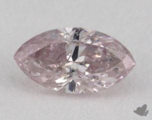marquise0.26 Carat fancy pink