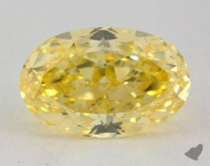 oval2.04 Carat fancy intense yellowVS2
