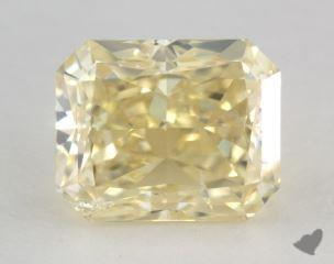 radiant3.03 Carat fancy light yellowSI2