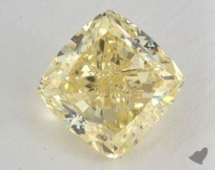 cushion2.62 Carat fancy yellowVS2