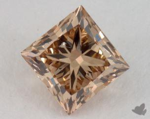 princess2.03 Carat fancy yellowish brownSI2