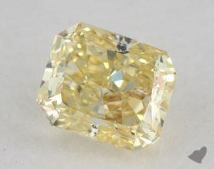 radiant0.55 Carat fancy yellow