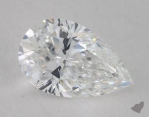 pear1.60 Carat EVVS1