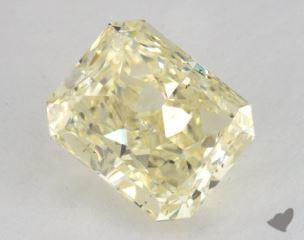radiant2.63 Carat fancy light yellowSI2