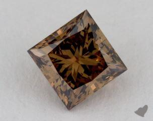 princess2.08 Carat fancy dark yellow brownSI1