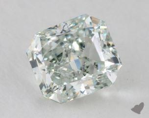 radiant0.75 Carat fancy light green