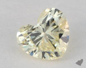 heart0.51 Carat fancy light yellow