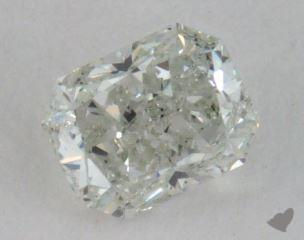 radiant0.30 Carat very light green