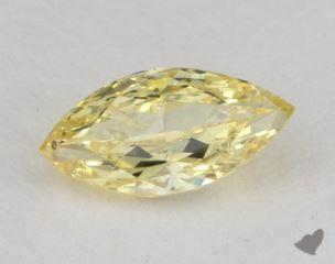 marquise1.00 Carat fancy intense yellowI1