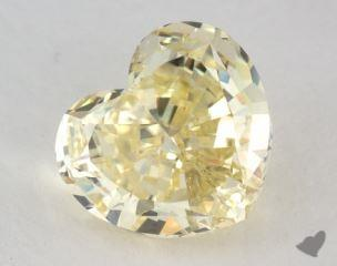 heart4.35 Carat fancy yellowSI1