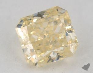 radiant1.20 Carat fancy yellowSI2