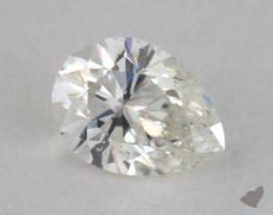 pear0.97 Carat HSI2
