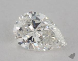 pear1.67 Carat HSI1