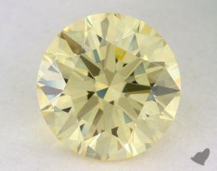 round1.19 Carat fancy yellowVVS2