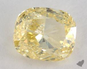 cushion3.00 Carat fancy yellowSI2