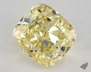 cushion1.02 Carat  yellowI1