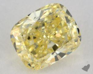 cushion0.61 Carat  yellowSI2